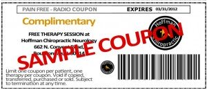 pain free radio coupon